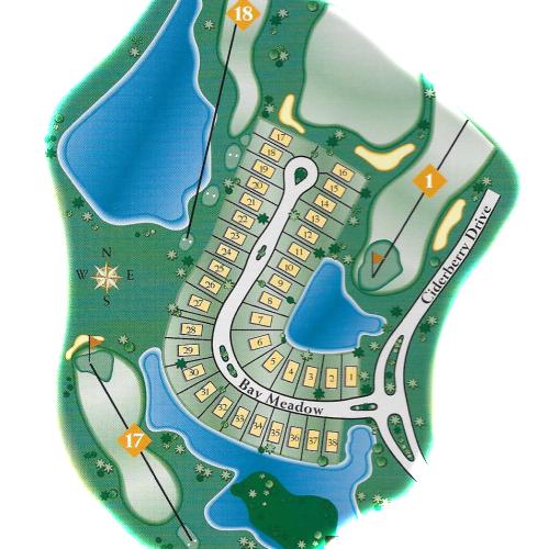 sweet bay map